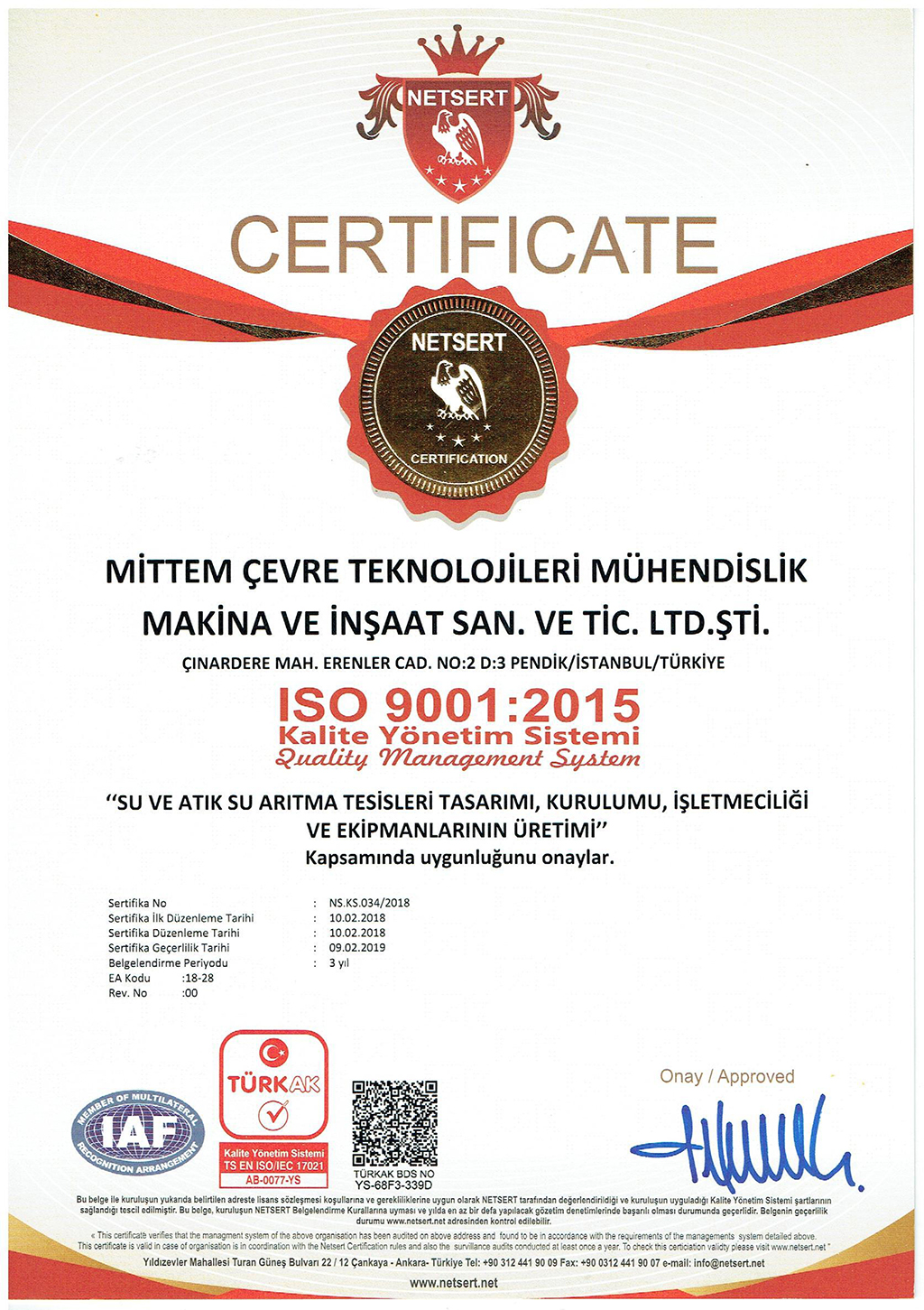 2.ISO 9001