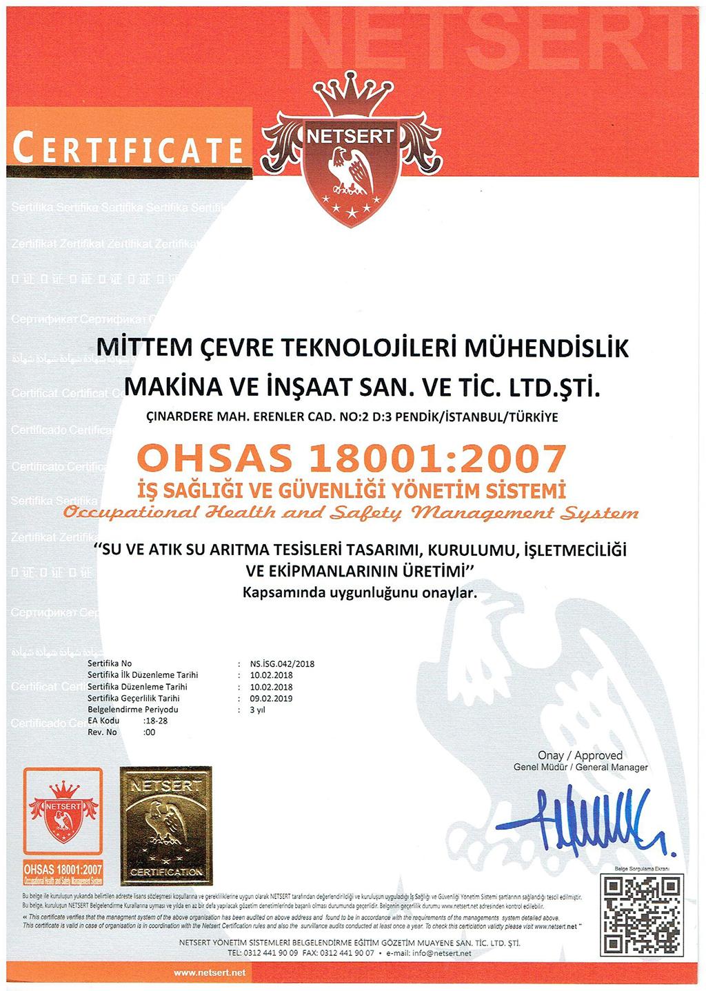 1.OHSAS 18001